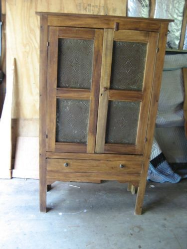 Pie Safe Pies And Television Cabinet On Pinterest