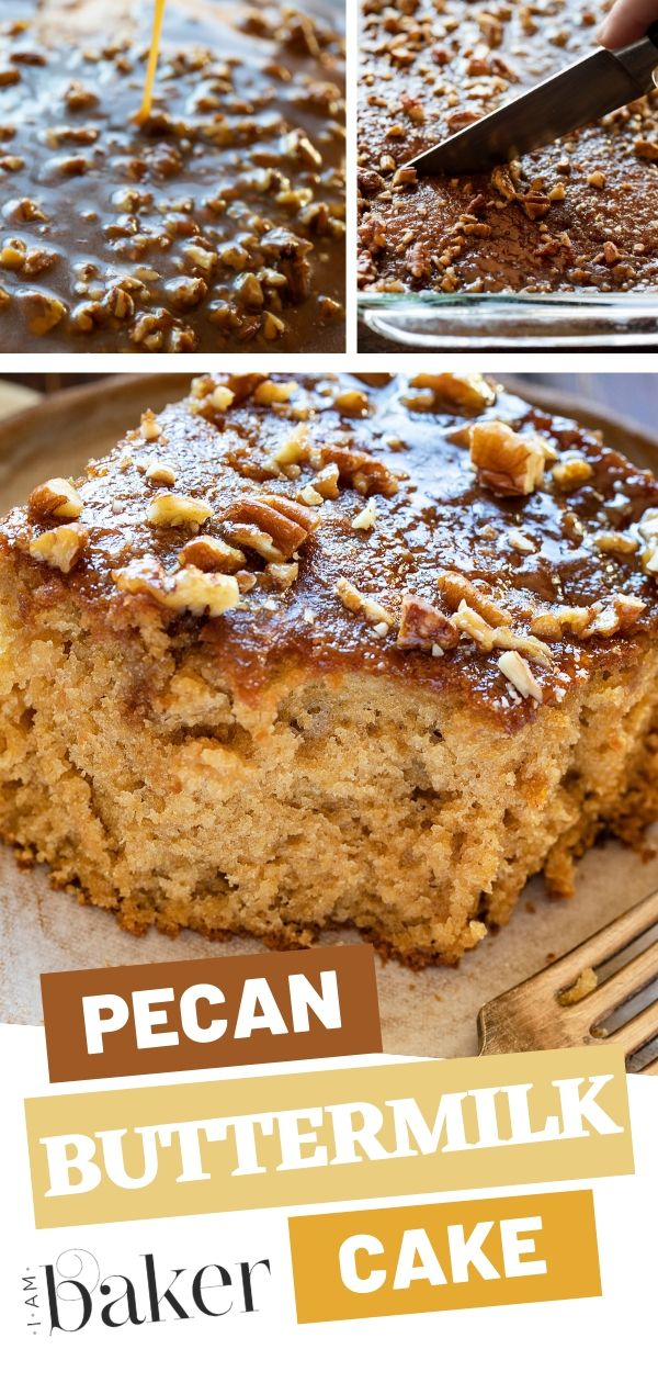 Pecan Buttermilk Cake Desserts Cake Recipes Fun Desserts