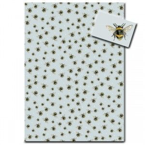 Bumble Bee Wrapping Paper by Sarah Boddy