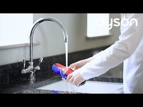 How to clean and maintain the Dyson V8 Cordless Vacuum Cleaner - YouTube