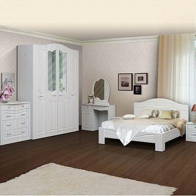 Спальня Ева-10 купить в Екатеринбурге | Мебелька