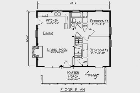 211 best images about small space design ideas on for Log siding house plans