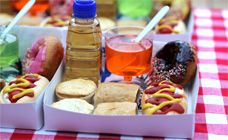 Party boxes recipe - neat idea for birthday parties and picnics with little ones.