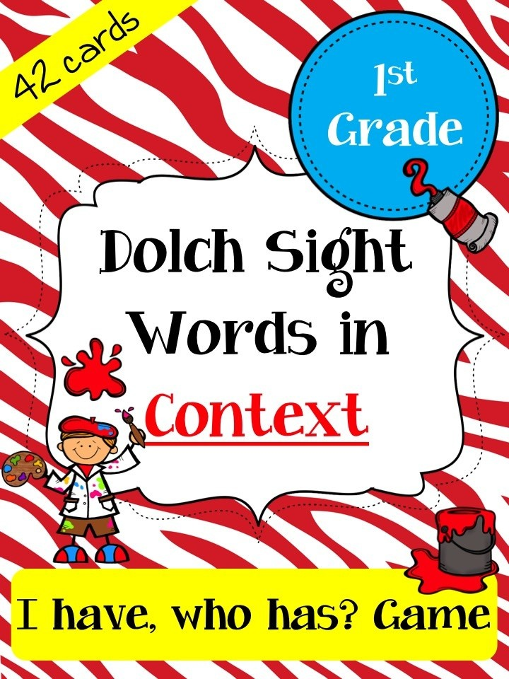9 best 1st grade comprehension centers images by kerry thompson on 1st grade sight word practice sight word game i have who has format fandeluxe Images