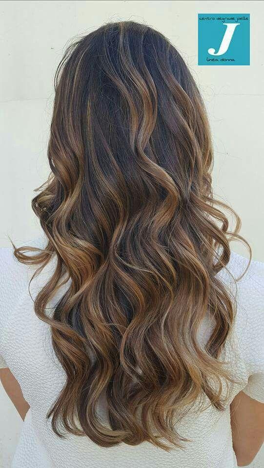 Lo stile Degradé Joelle. #cdj #degradejoelle #tagliopuntearia #degradé #igers #musthave #hair #hairstyle #haircolour #longhair #ootd #hairfashion #madeinitaly #wellastudionyc