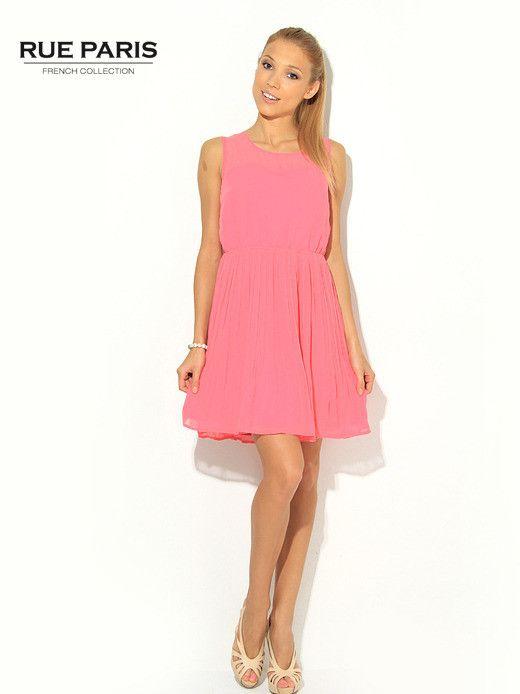 Urocza różowa sukienka Butik