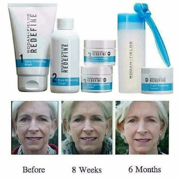 Redefine Regimen Redefine Regimen is rated #1 Age Fighting product line in the U.S. This is a Multi-Med Therapy, which means each of the steps works in conjunction with the other steps. This is an amazing product with fantastic results! Rodan and Fields  Other