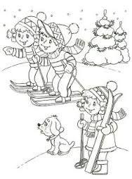 zima omalovanky - Hľadať Googlom