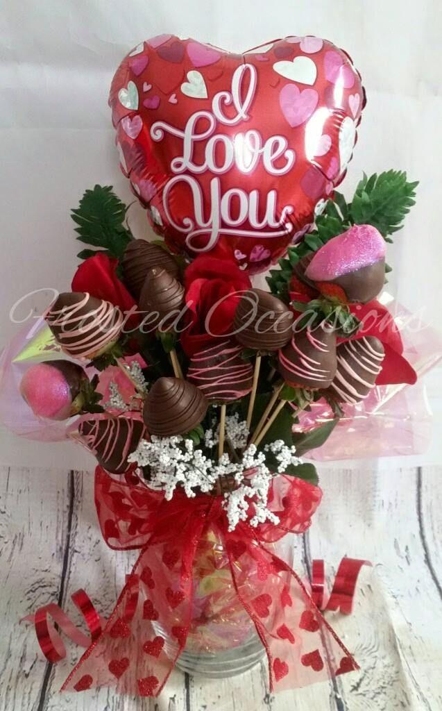 Chocolate Strawberry Bouquet  Valentine's Day <3