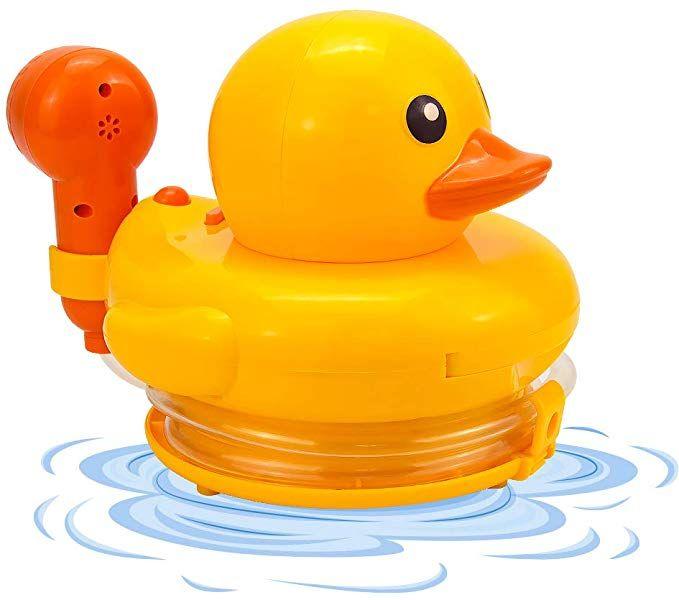 Mothermed Bath Duck Shower Bathtub Toys For Kids Baby Bath Sprayer