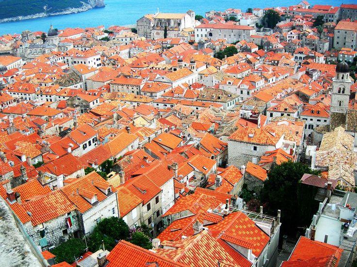 クロアチア、ドブロヴニク旧市街(flickr)