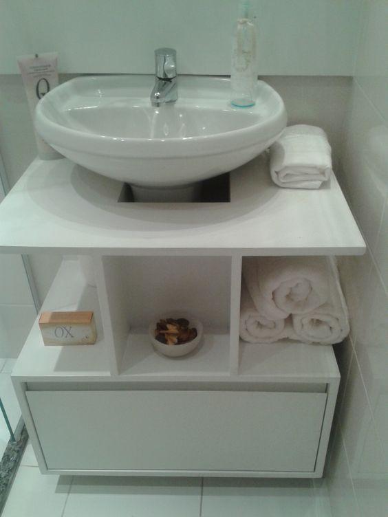 banheiro - aproveitar espaço abaixo da pia modelo 1