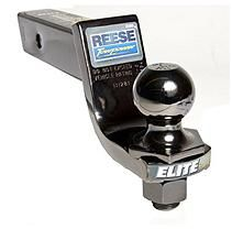 """REESE® Towpower Elite Black Nickel Interlock 2"""" Hitch Ball and Ball Mount Combination"""