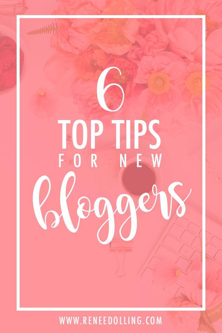 6 Top Tips for New Bloggers | #blog, #blogger, #blogging, #tips, #businessowner, #girlboss