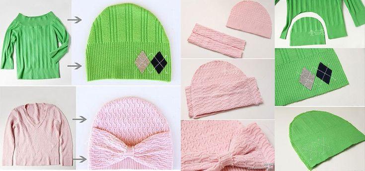 pulls-recyclé-en-bonnet                                                                                                                                                                                 Plus