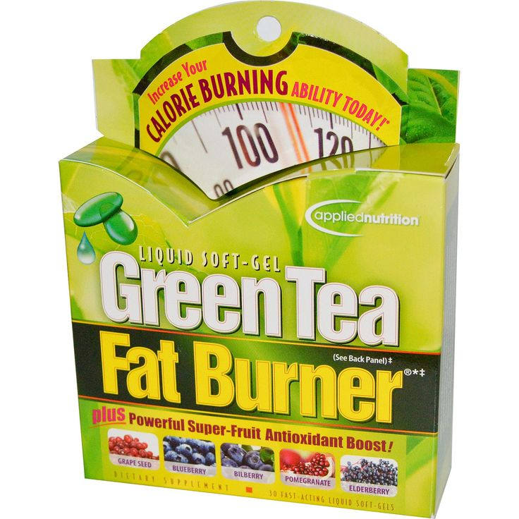 Irwin Naturals, Green Tea Fat Burner, 30 Fast-Acting Liquid Soft-Gels - iHerb.com