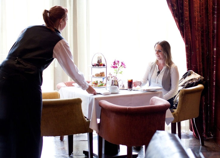 Enjoy Afternoon Tea in the relaxed surroundings of the Amber Lounge at Fota Island Resort