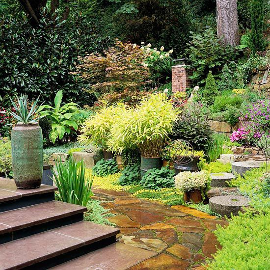 Shade Garden Design Ideas create interesting vignettes sprinkle your shade garden with a few stunning plant combinations to act as Stunning Shade Garden Design Ideas
