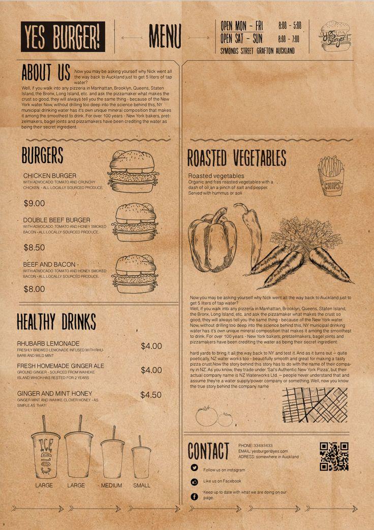 menu - Henry Fraser