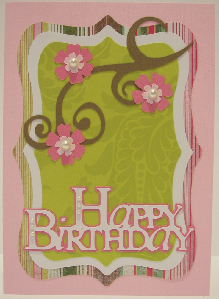 31 best Cricut Sophisticated Cartridge images – Sophisticated Birthday Cards