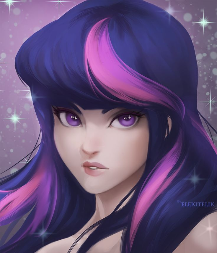 twilight sparkle MLP by Elekitelik on DeviantArt