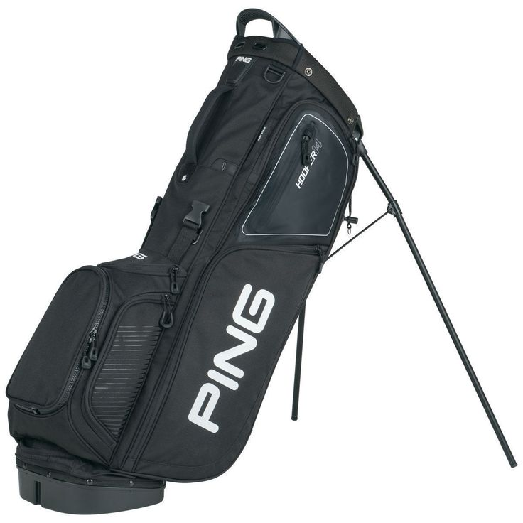 Golf Club Bags 30109: @@A Brand New - Black Black Ping 2017 Hoofer 14 Golf Stand Bag -> BUY IT NOW ONLY: $159.99 on eBay!