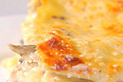 Portobello Mushroom Lasagna from FoodNetwork.com