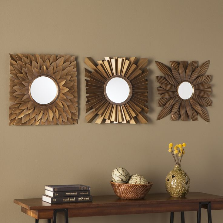 Like this idea but perhaps something like this without mirrors for above our couch!