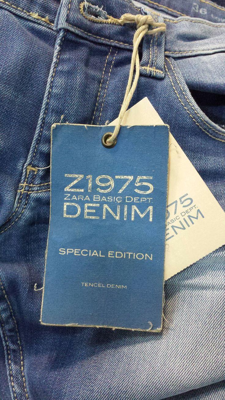 Mens jeans design legends jeans - Zara Basic Denim Hangtag