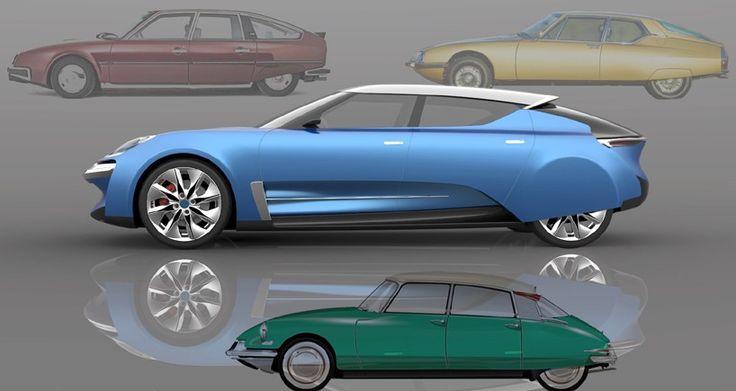 In 1955, nu zeventig jaar geleden, kwam de iconische Citroën DS op de markt. Met dit concept wordt deze karakteristieke auto eer aangedaan