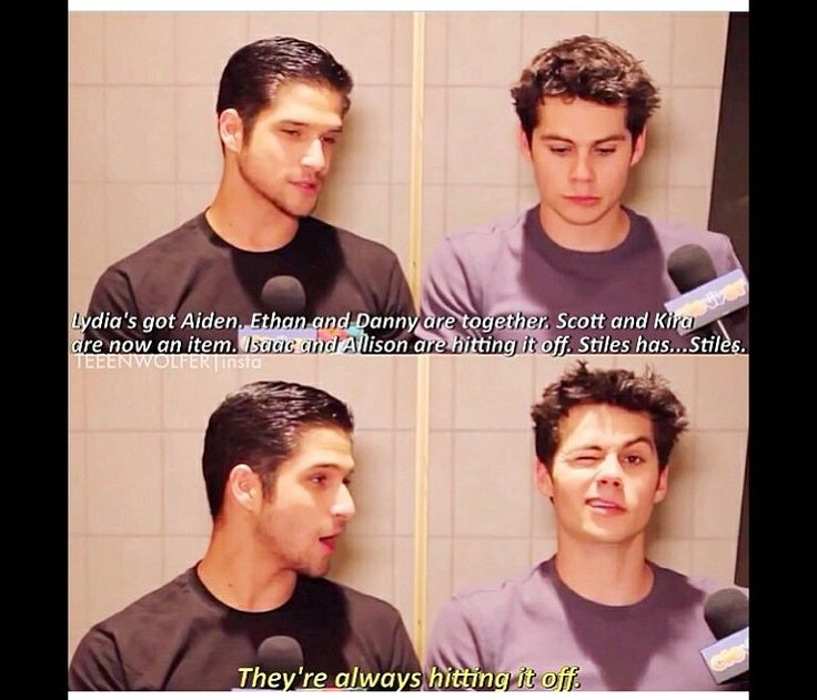 stiles is a loner ahahaha