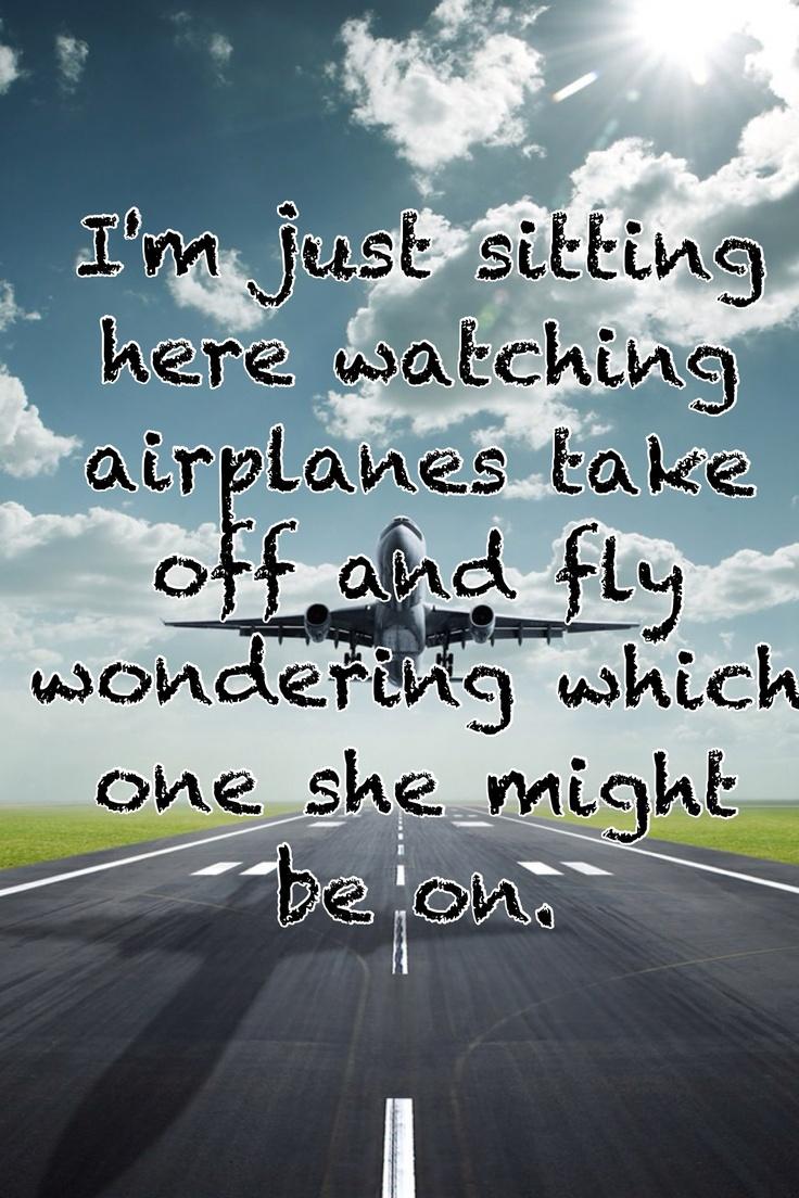 Gary Allan watching airplanes w/lyrics - YouTube