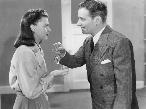 Ginger Rogers and Ronald Coleman - Lucky Partners - one of my favorite movies