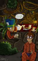 Arkham Asylum Riddle Challenge: Mad Hatter by irishimo