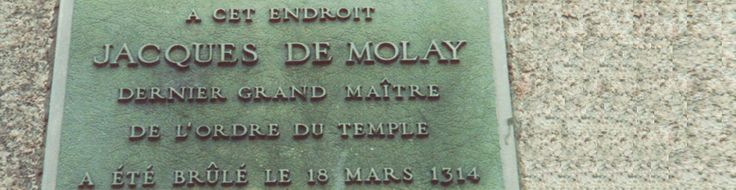 PARIS : Suivez PCPL sur les traces des derniers instants de l'ordre du Temple et découvrez où fut allumer le dernier bucher des moines guerriers. www.parciparla.fr