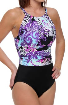 MagicSuit Donatella Jennifer Halter One Piece Swimsuit