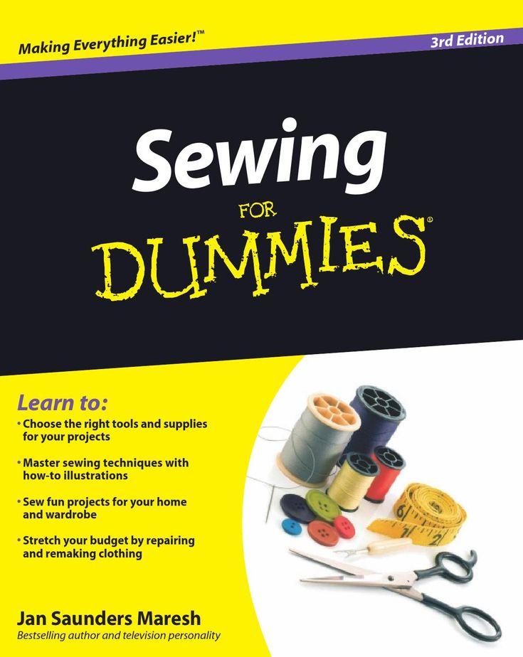 ISSUU - Sewing for dummies®%2c 3rd edition by Elyz Cutie...