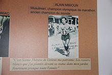 1956 Alain Mimoun  (France) JO de Melbourne Australie