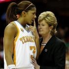Candace Parker and Pat Summitt