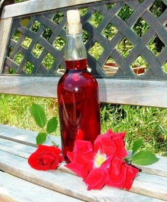 Verus konyhája: Rózsaszörp