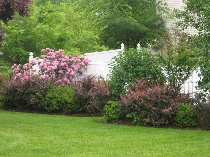Landscape Fence Ideas Flowers Interesting Ideas For