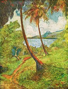 Charles Laval - Landscape of Martinique (1887)