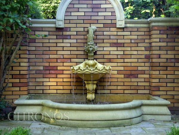 Bortnica fontannowa przyścienna formalna - Genova