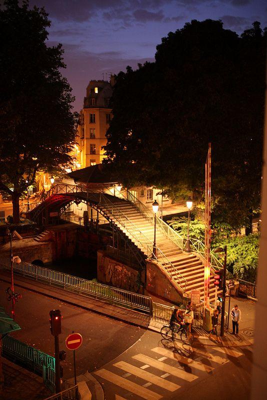 canal saint martin . 10e arr . paris