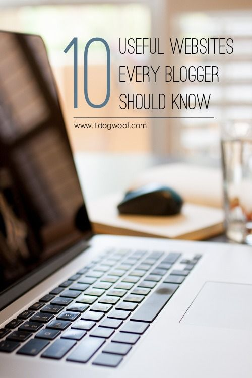 These blogging websites can come in SOOO useful when you're trying to create that perfect pinnable graphic, or when you just want to spruce up your blog! at www.1dogwoof.com