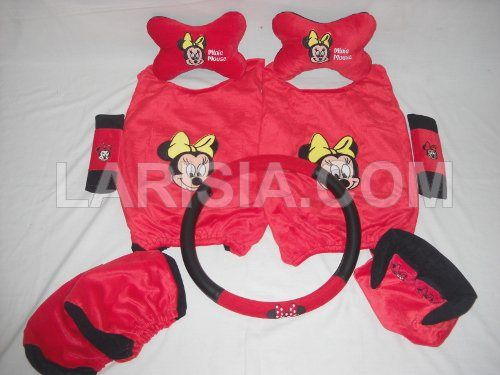 Bantal Mobil 6 in 1 Minie Mouse