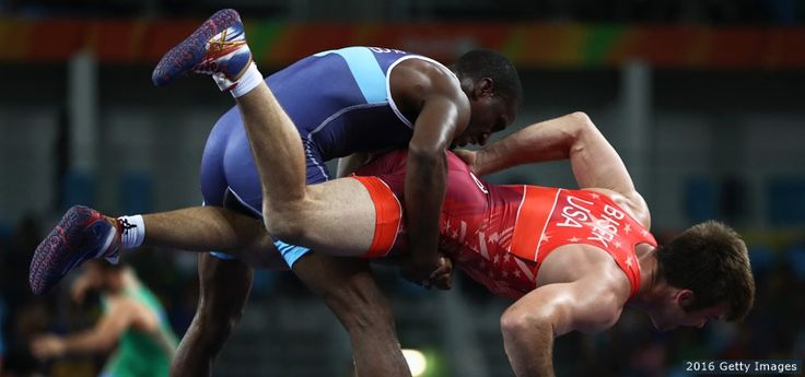 The Best Photos From Rio 2016: Aug. 14 Edition Andy Bisek, Wrestling