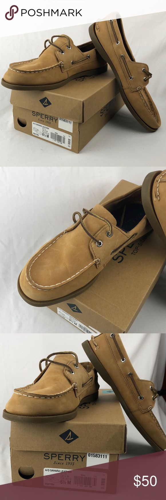 Boys Sperry shoes Boys Authentic Sperry A/O Sahara Leather Sperry Shoes