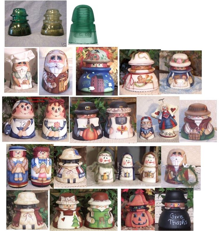 Painted insulators/ humm do not know if I want to paint mine....sec
