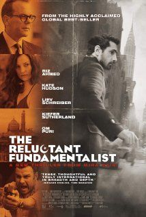 The Reluctant Fundamentalist (2012). This film didnt work for me as it has for most others. Will have to watch it again and see if the timing was just wrong.